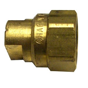 Chapin Brass Fan Tip Female Nozzle 1.0 GPM