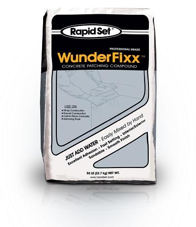 Rapid Set WunderFixx Concrete Patching Compound