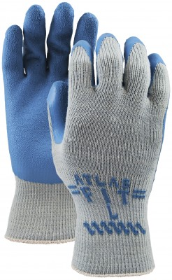 Pair of Grey/blue Watson Atlas Blue Collar Gloves