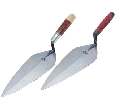 London Pattern Brick Trowel- Wood Handle