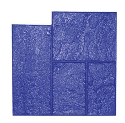 Brickform Rough Cut Ashlar Blue Stamp