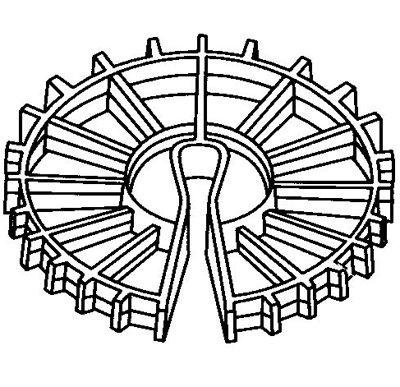 Dayton Superior Rebar Space Wheel