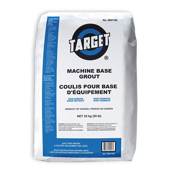 Brock White Canada | Target Products Machine Base Grout 25Kg