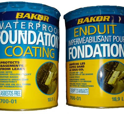 Bakor 700-01  Waterproof Foundation Coating