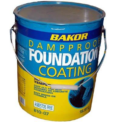 Bakor Dampproof Foundation Coating