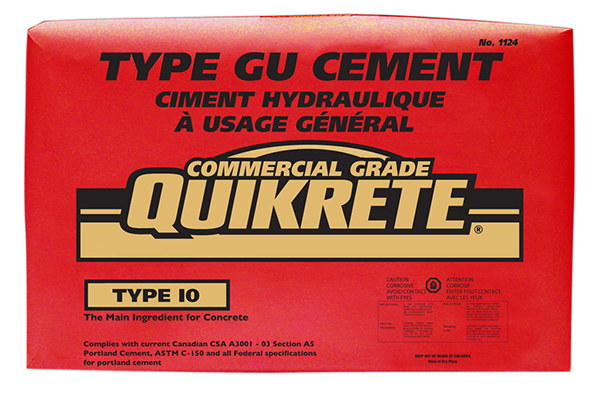 QUIKRETE® Type GU General Use Type 10 Portland Cement