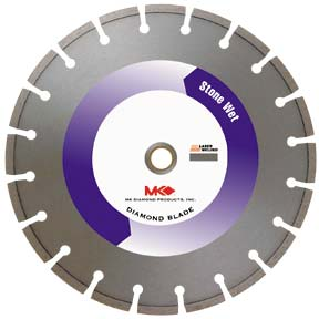 Segmented Rim Wet and Dry Cutting Blade