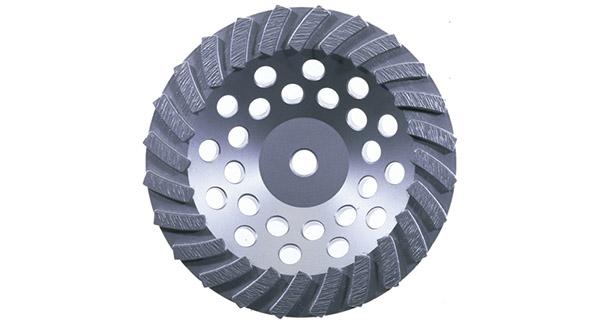 """Husqvarna Cup Wheel 5""""x5/8-11 14 Segm Turbo"""