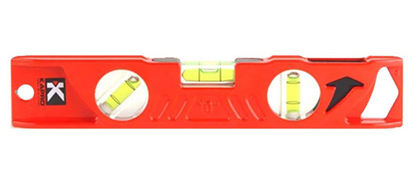 "Torpedo Level 10"" w/Plumb Site 923-10-10"