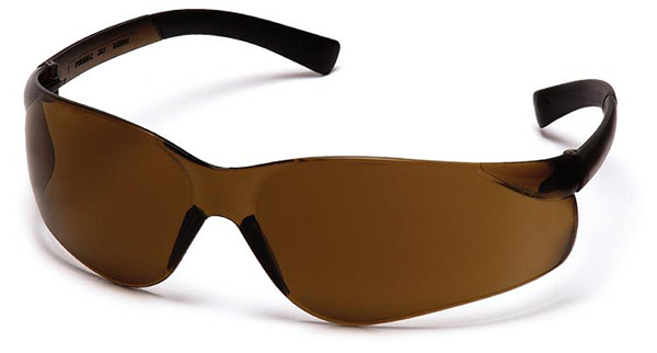 Pyramex Safety Glasses with Coffee Lens