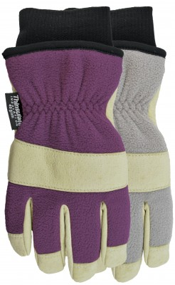 Pair of Grey/yellow Watson Gale Force Gloves