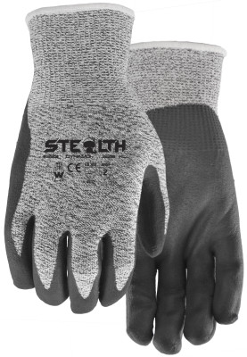 Pair of Grey Watson Stealth Dynamo Gloves