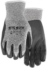 Pair of Grey Watson Stealth Dynamo Gloves