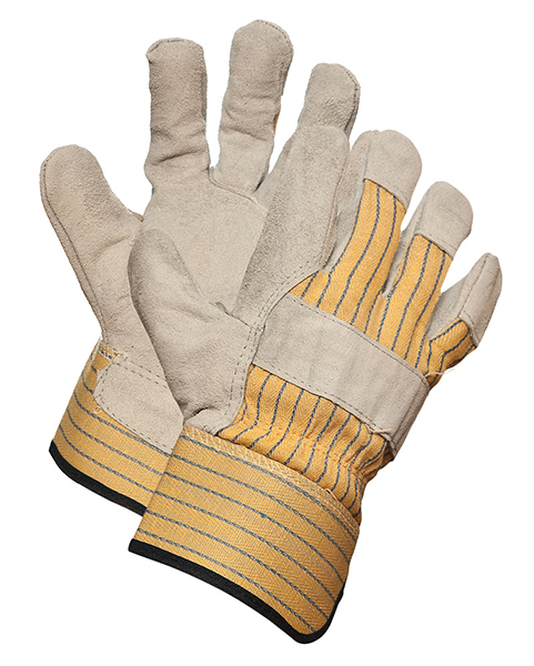 Latson Split Leather Palm Rubberized Gloves