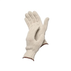 Pair of white Forcefield String Knit Gloves