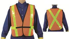 Latoplast Traffic Vest Mesh Orange TV51RSBC