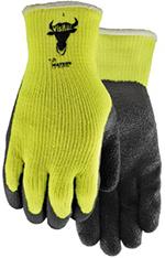 Pair of yellow/black Watson Visibull Gloves