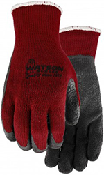 Pair of red/Grey Watson Red Hots Gloves