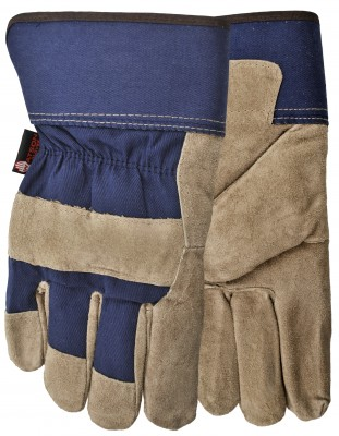 Pair of Grey/blue Watson Dry Paws Gloves