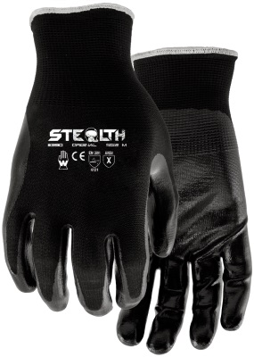Pair of black Watson Stealth Original Gloves