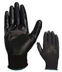 Pair of Black Nitrilon Lightweight Nitrile Coated Gloves