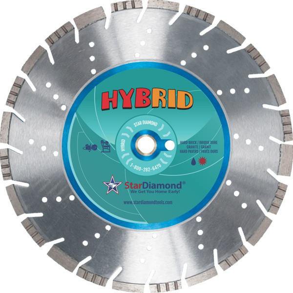 Star Diamond Tools Hybrid Turbo Diamond Blade 16""