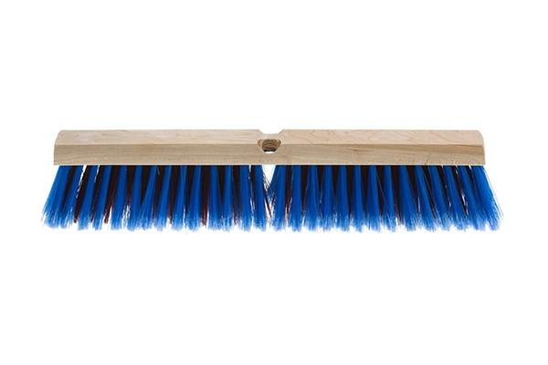 Broom with handle