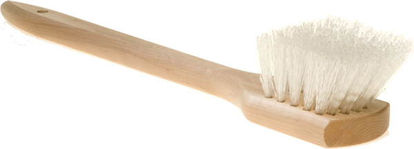 Tampico Brush with Wooden Handle