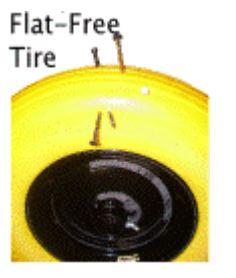 Flat Free Wheel