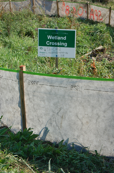 Silt Fence Priority 1