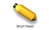 Short Steel Head