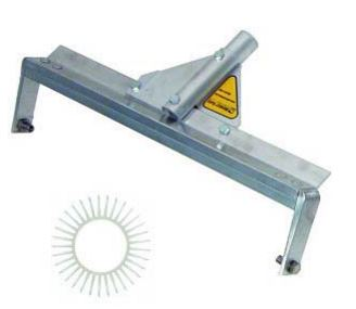 """Seymour Midwest 24"""" Spike Roller with Aluminum Frame"""