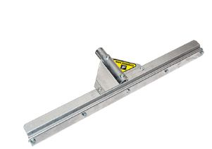 Squeegee Frame with Threaded Handle