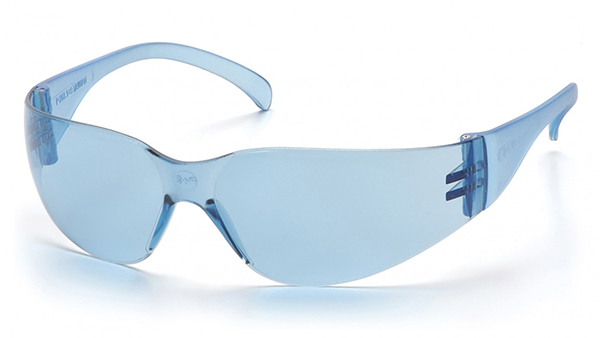 Infinty Blue Lens with Infinty Blue Temples