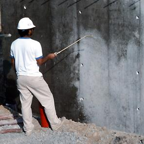 J20 Cure & Seal being applied to concrete