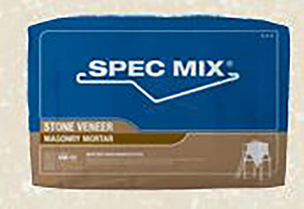 Spec Mix Stone Veneer Mortar