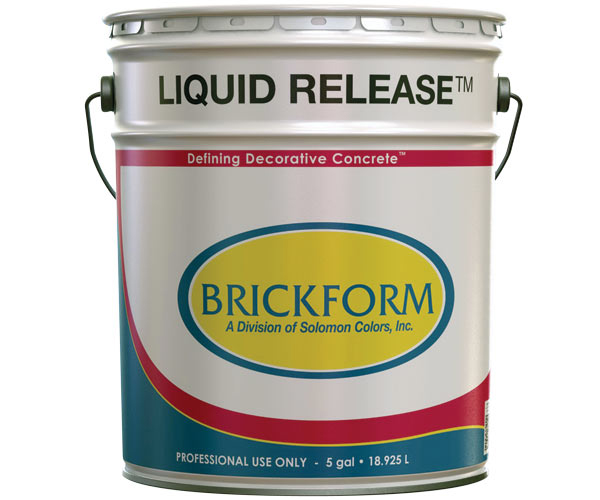 Brickform Liquid Release 5 Gallons