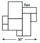 Brickform Grand Ashlar Mat (Red)