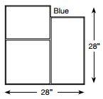 Brickform Large Ashlar Cut Slate (Blue)