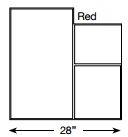 Brickform Large Ashlar Cut Slate (Red)