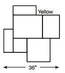 Brickform Regal Ashlar Mat (Yellow)