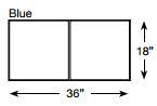 Brickform Walkway Slate Mat (Blue)
