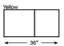 Brickform Walkway Slate Mat (Yellow)