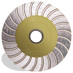 "Pearl Abrasive Diamond Cup Wheel 4"" HD Med Grit"