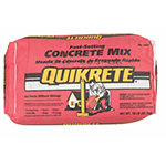 Quikrete Red Bag Fast Setting
