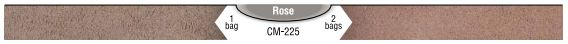 Interstar Pigments Mortar Color CM-225 Rose