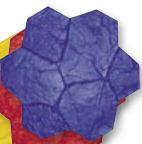 Brickform Random Stone Stamp Blue