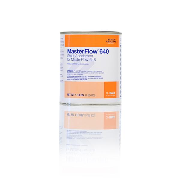 BASF MasterFlow® 640, Cold Temperature Accelerator, 1 Quart