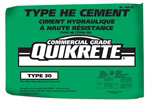 Target Products' Quikrete Type HE High Early Cement