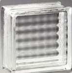 "Pittsburgh Corning Glass Block Argus, 8""x8""x4"""